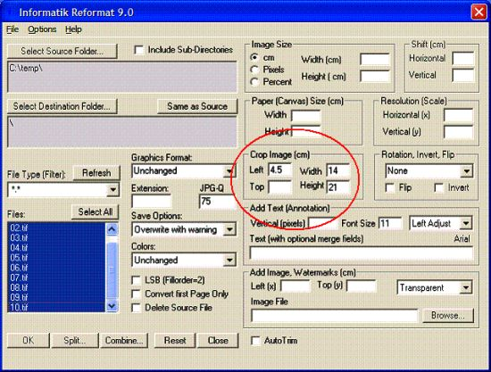 how to collate scanned images into a single pdf